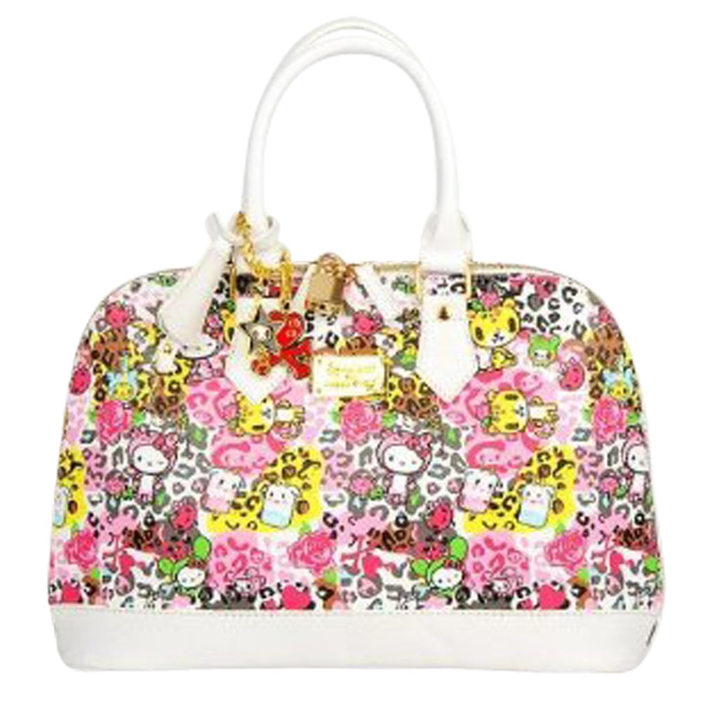 9f6b59049 Amazon.com: Hello Kitty Leather-like Shopper Tote Shoulder Hand Bag: Baby