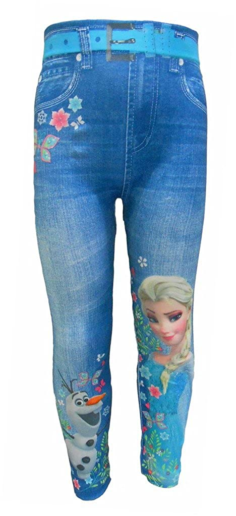 Disney Frozen Girls Stretch Leggings
