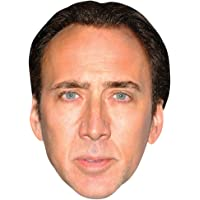 Nicolas Cage Celebrity Mask, Card Face and Fancy Dress Mask