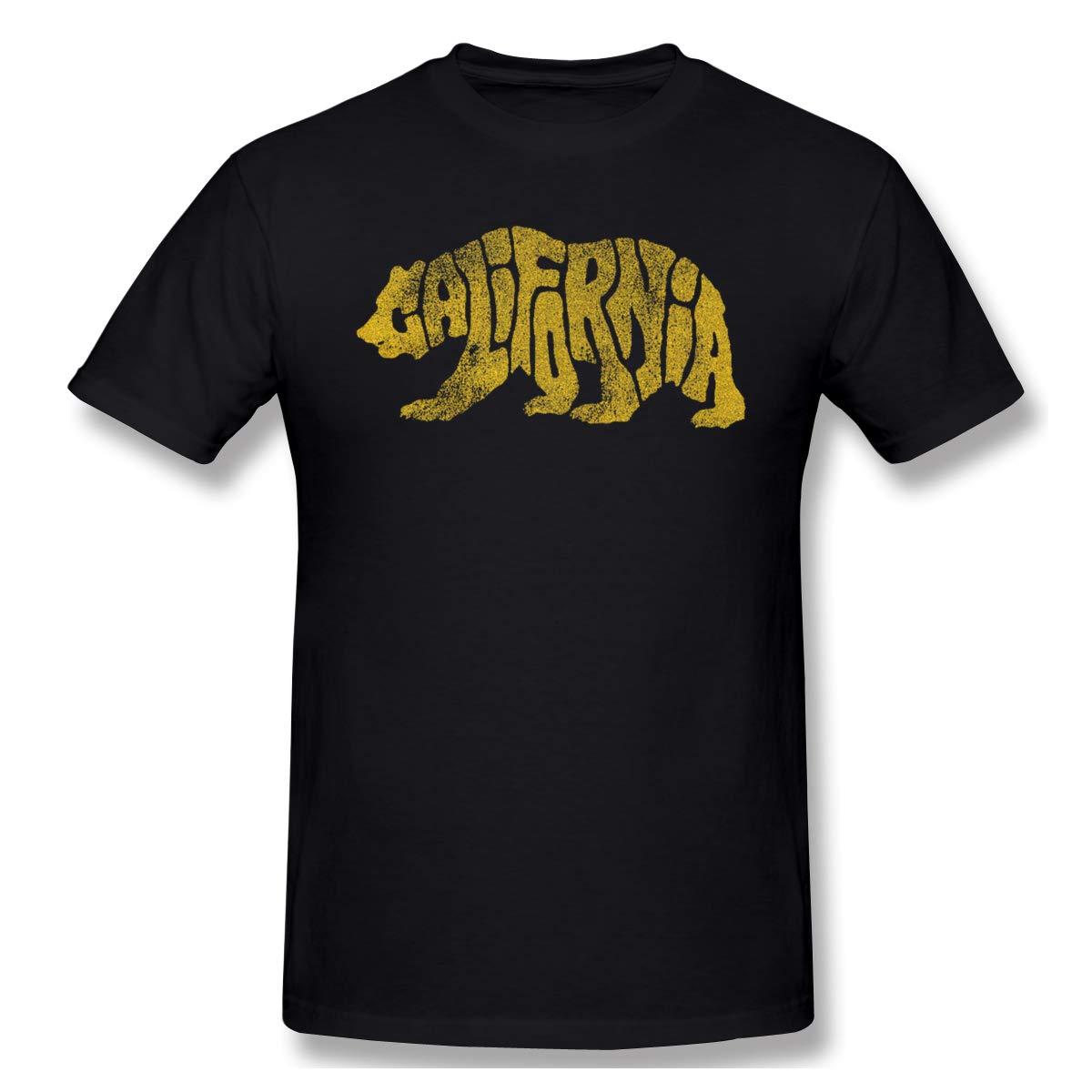 S California Comfortable Black Tees Shirts