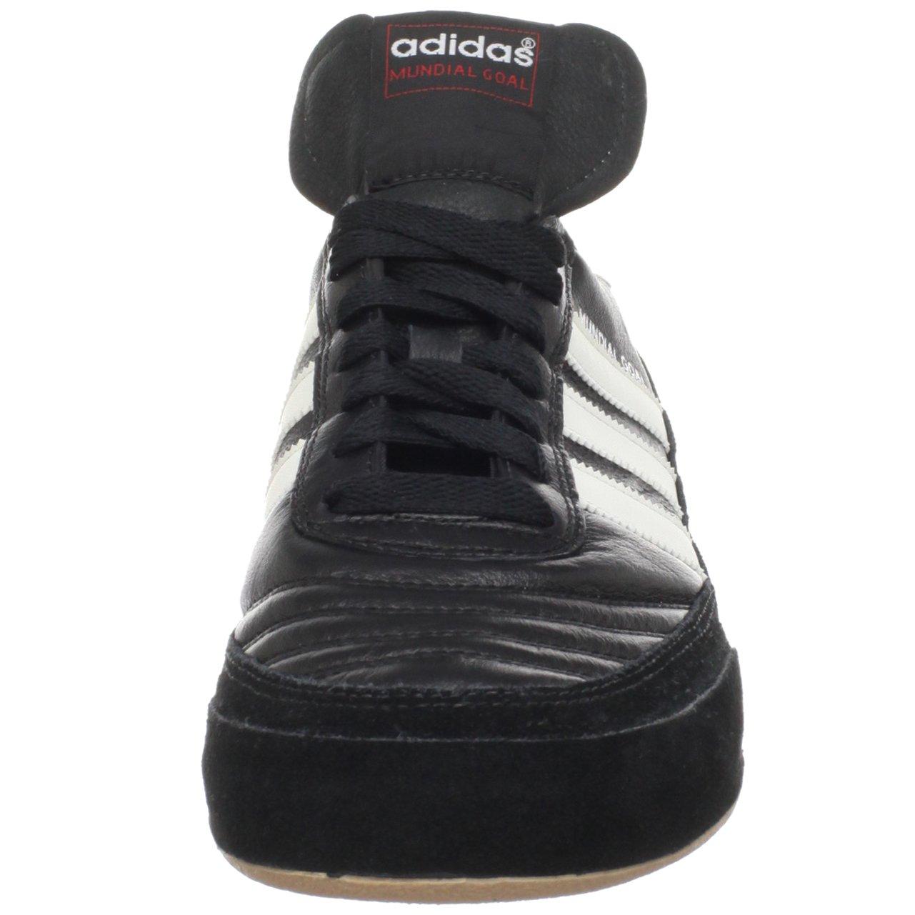 adidas Men's Mundial Goal Soccer Cleat, Black/White/White, 5 M US by adidas (Image #4)