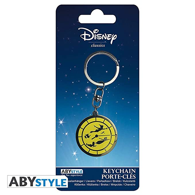 Amazon.com: Disney Peter Pan Keychain Peter Pan: Kitchen ...