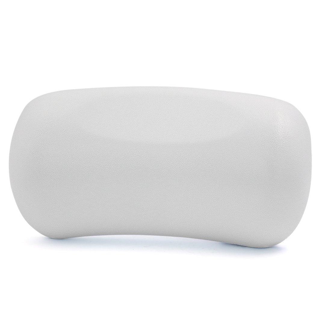 White Neck Back Support Headrest Comfort Bathtub Tub Bath Spa Pillow Cushion