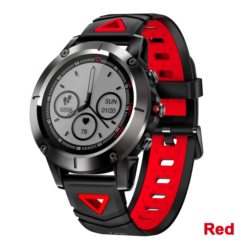 ZCPWJS Pulsera Inteligente G01 GPS Smart Watch Hombres IP68 ...