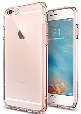 wholesale dealer c92ca a0bd1 Spigen Ultra Hybrid iPhone 6S Case with Air Cushion Technology and Hybrid  Drop Protection for iPhone 6S / iPhone 6 - Rose Crystal