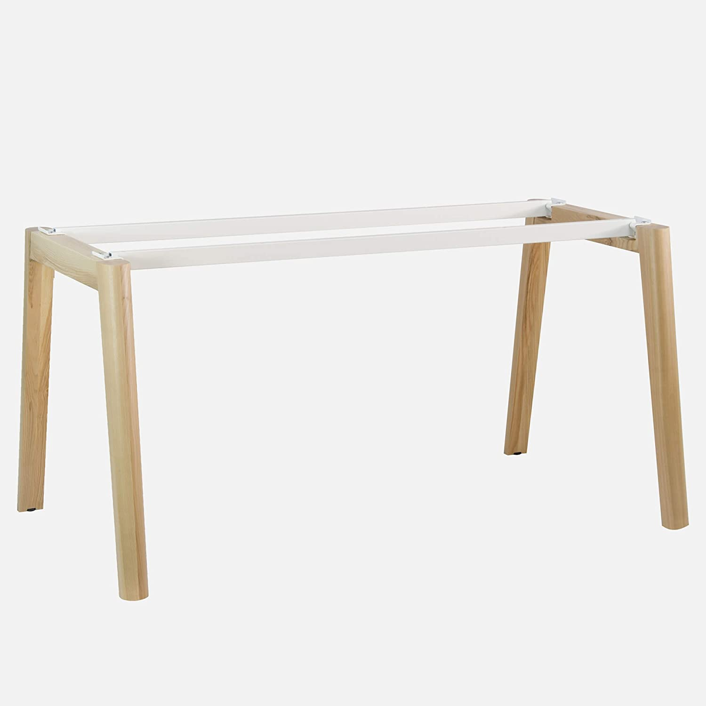 Weber Büro Escritorio Nova Wood 1600 x 800 mm Blanco/Madera ...