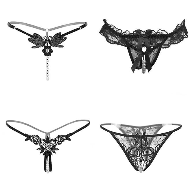 16 opinioni per Nightaste Intimi Mutandine Sexy da Donna Attraente Mutandine Perizoma con Pizzo