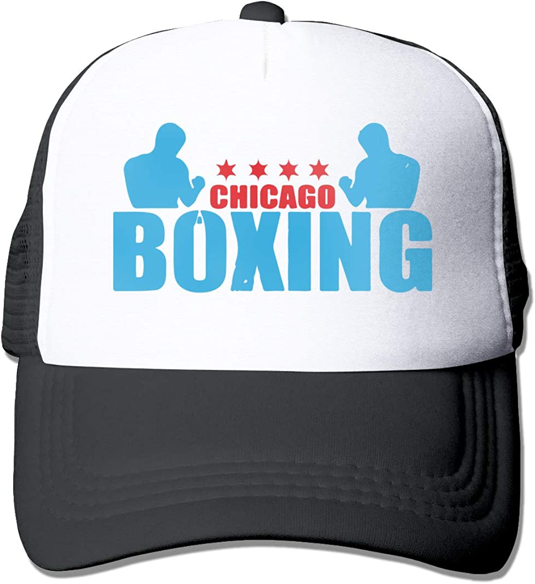 GFDHERW236 Chicago Boxing Trucker Dad-Hat Adjustable Outdoors