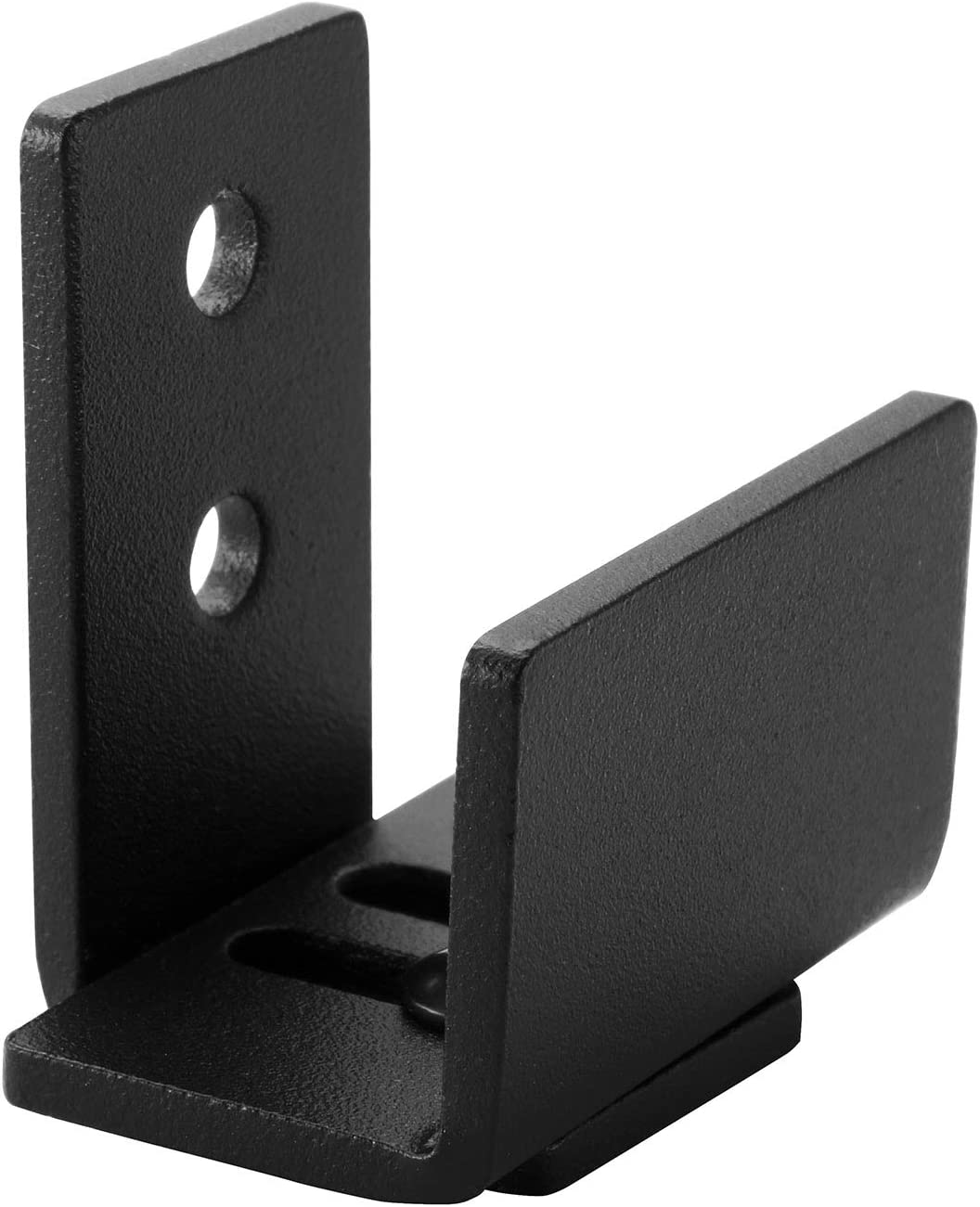 EaseLife Sturdy Sliding Barn Door Hardware Floor Guide,U Shape,Adjustable Fit Distance,Flexible Mount System,for Door & Cabinet,1 Pcs