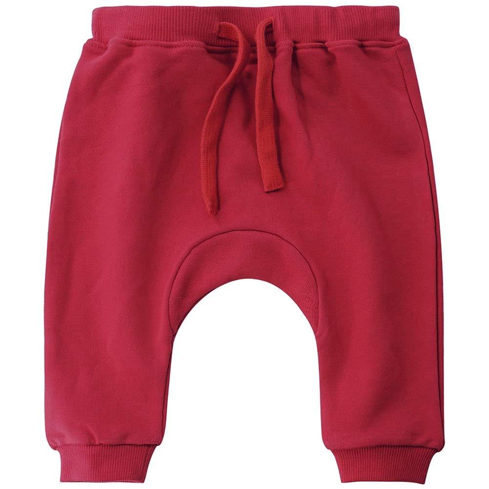 Happy childhood Baby Boys Girls Cotton Hiphop Harem Pants Infant Sport Jogger Solid Casual Sweatpants Trousers Bottoms