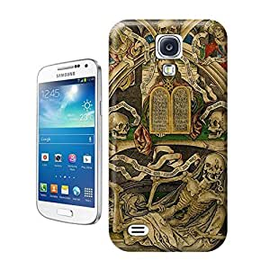 Unique Phone Case Skeleton skull head arts map weird to skull painting Hard Cover for samsung galaxy s4 cases-buythecase