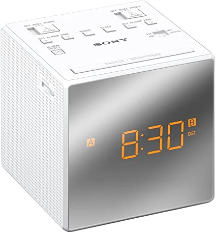 Sony ICF-C1T - Radiodespertador (AM/FM, alarma dual, fecha ...