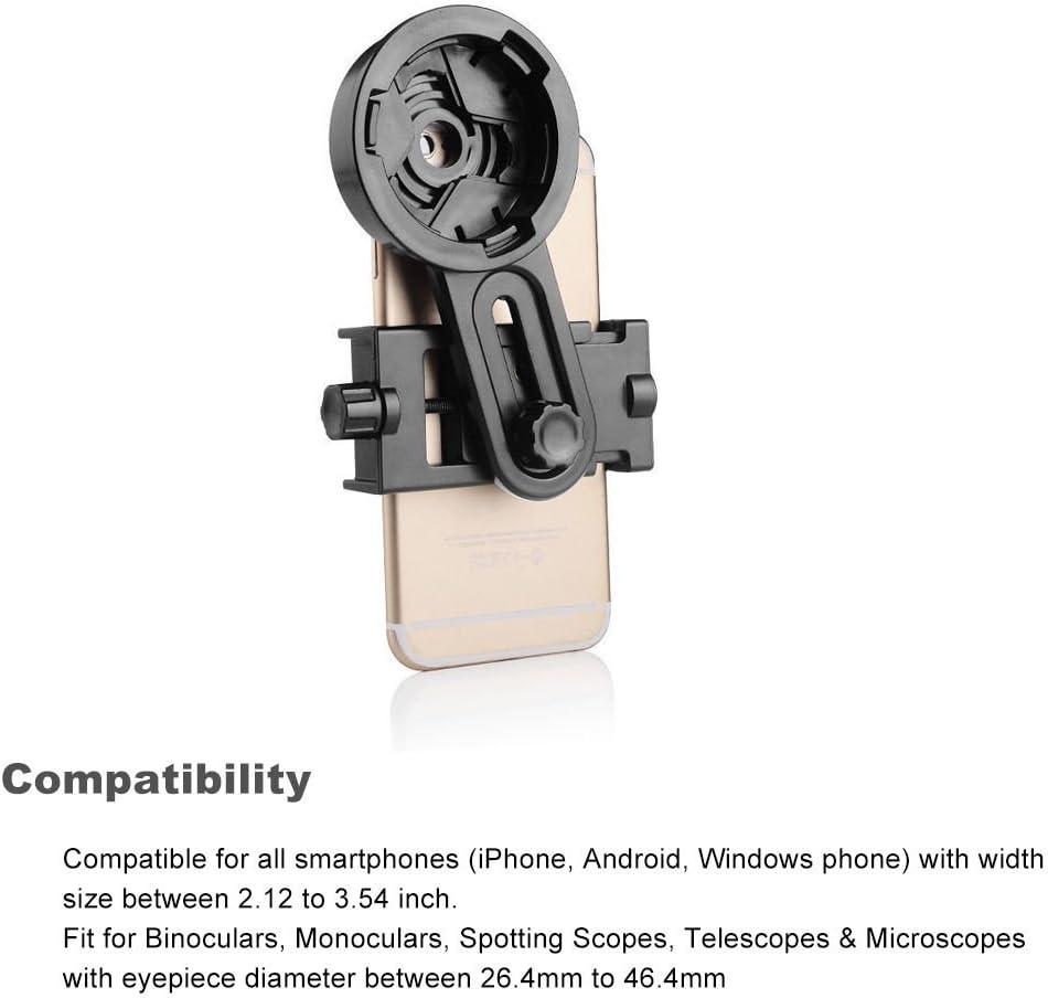 SoGee Universal Smartphone Phone Adapter Mount Microscope Spotting ...