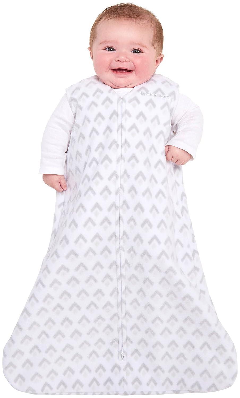 Elephant Texture SleepSack Wearable Blanket Micro-fleece Gray Halo Large