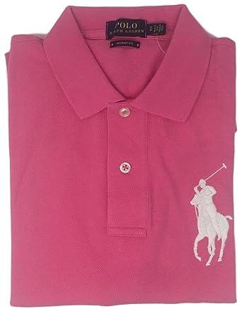 Ralph Lauren Women Purple Soft Green Big Pony Polo