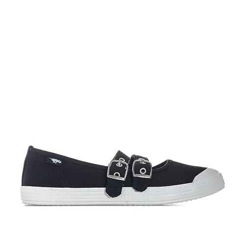 Rocket Dog - Zapatillas de Tela para Mujer, Color Negro, Talla 35.5: Rocket Dog: Amazon.es: Zapatos y complementos