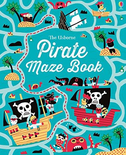 Pirate Maze Book (Maze Books) (Mazes)