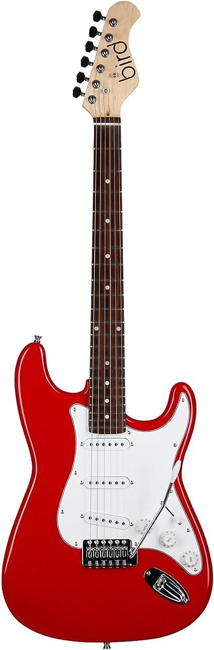 Bird STC1 - Guitarra eléctrica, color blanco: Amazon.es ...