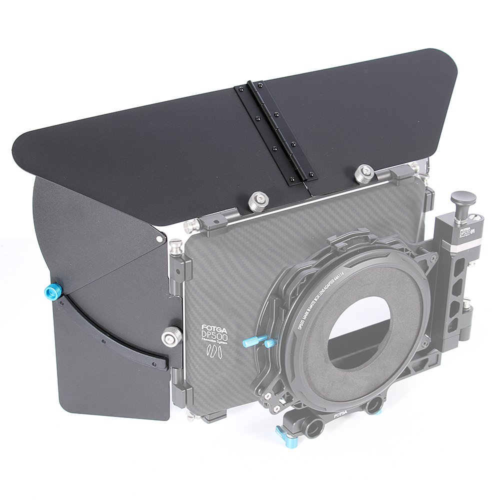 Fotga Matte Box Top Flag and Side Flags for DP500 III Mattebox