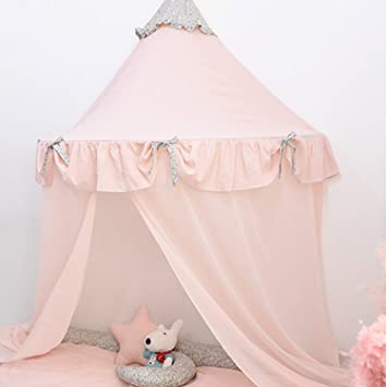 HAN-MM Hanging Bed Canopy Princess Play Tent and Bed Canopy Round Hoop Netting Mosquito & Amazon.com: HAN-MM Hanging Bed Canopy Princess Play Tent and Bed ...