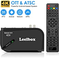 Leelbox Android Streaming Media 1080P ATSC Converter Box