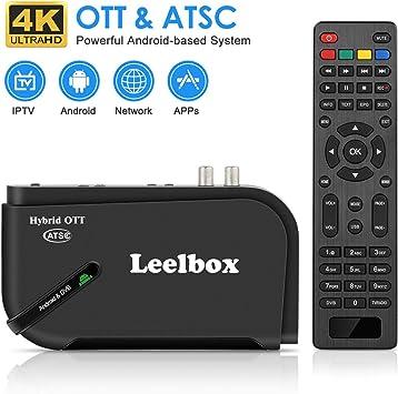 Leelbox Android TV Box, 1080P ATSC Convertidor Caja para grabación ...