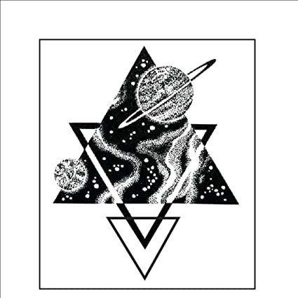 Ruofengpuzi Adesivo Tatuaggiogalaxy Geometría Triángulo Arte ...