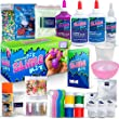 ULTIMATE DIY SLIME KIT for Girls & Boys | ALL YOU NEED TO MAKE SLIMES IN ONE BOX |Ingredients, Tools, Containers, Guide, e-book & Slime Supplies| Cloud, Fluffy, Unicorn, Glow, Glitter, Butter, & More) by Ningbo Shinegifts Import & Export