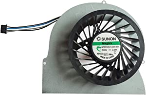 New Laptop CPU Cooling Fan for HP EliteBook 8570W 8560W 8560P 8460W 8460P Series MF60150V1-C000-S9A, 3 Screw Holes 4 pins