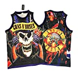 Legends Of Rock Men's Guns N Roses T Shirt Jersey Rock N Roll (Large)