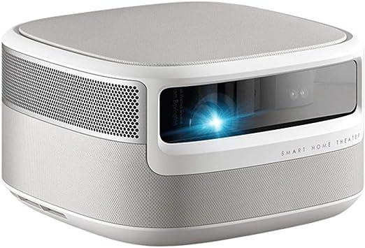 QinLL Proyector casero, 1080p HD Nativo 1850 lúmenes ANSI DLP 3D Proyector del Teatro casero Android Smart TV Altavoz Incorporado Bluetooth estéreo de Alta fidelidad, AA: Amazon.es: Electrónica