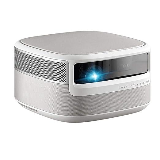 QinLL Proyector casero, 1080p HD Nativo 1850 lúmenes ANSI ...