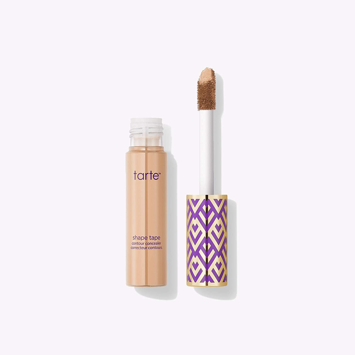 The Tarte Shape Tape Contour Concealer travel product recommended by Adina Mahalli on Pretty Progressive.