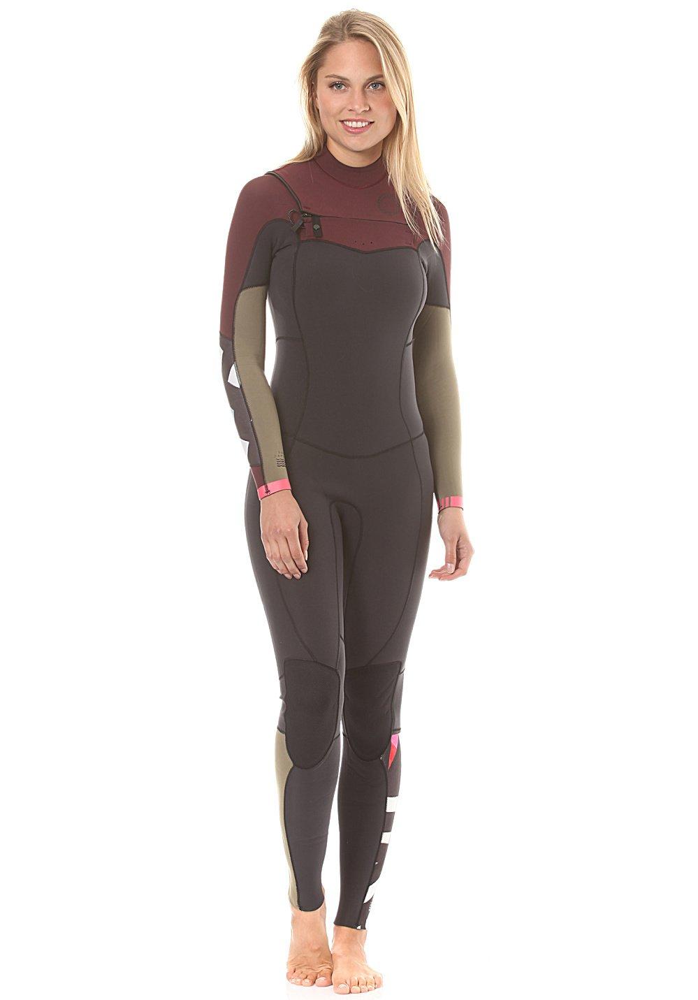 Billabong 2017レディースSalty Dayz 3 / 2 mm Chest Zip Wetsuit Mulberry f43g15 Ladies 4   B073NYW753