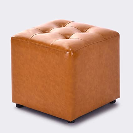 Amazing Amazon Com Hmdx Faux Leather Ottoman Cube Upholstered Cjindustries Chair Design For Home Cjindustriesco