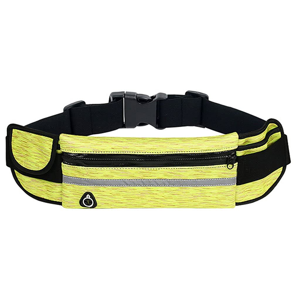 MYtodo Unisex Outdoor running bag multicolor phone anti-theft invisible sports belt Pack