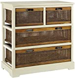 Cheap Normandy Double Chest, 4-DRAWER, WHITE