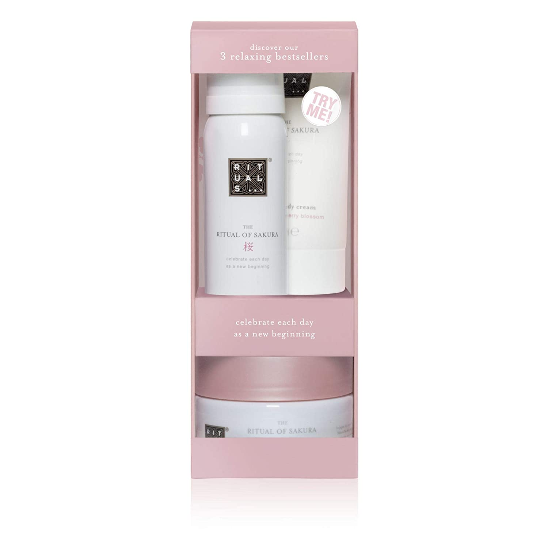 Rituals Try Me Set Sakura Gift set foaming shower gel 50ml, body scrub 125 gr, body cream 70 ml 1104638