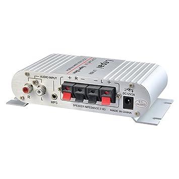 lufa Lepai lp-808 12 V amplificador amplificador de potencia de amplificador de venta de ordenador: Amazon.es: Electrónica