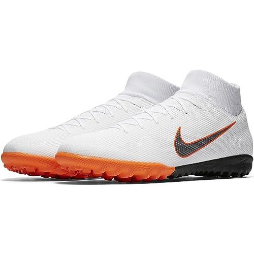 quality design e5842 ed9a7 Nike Mercurial Superfly X 6 Academy TF AH7370, Botas de fútbol Unisex  Adulto, Mehrfarbig (Indigo 001), 43 EU  Amazon.es  Zapatos y complementos