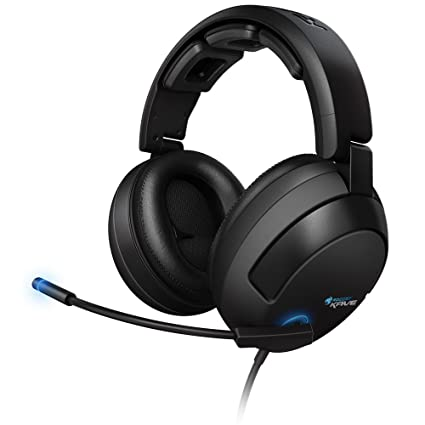 49d34fa747a ROCCAT KAVE 5.1 Surround Sound Gaming Headset with Desktop Remote, Black
