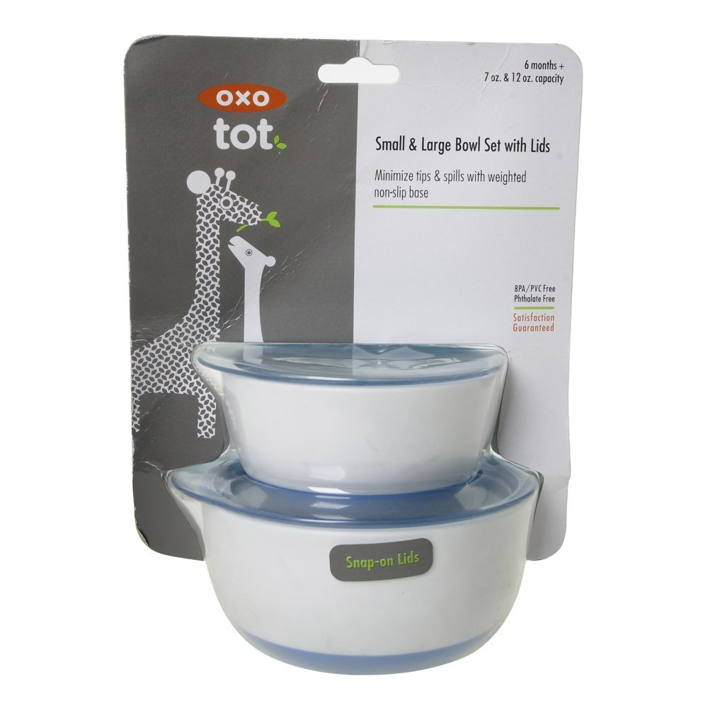 Oxo Tot 6125500 Small and Large Bowl Set Pink