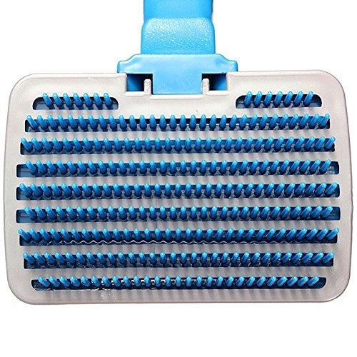 durable service Gracefulvara Dog Cat Long Hair Quick Clean Comb,Pet Fur Bristle Grooming Brush