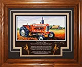 Allis Chalmers Model D17 1957-1967 FP Allis Chalmers Tractor Pictures Wall Decor Art Gift for Dad