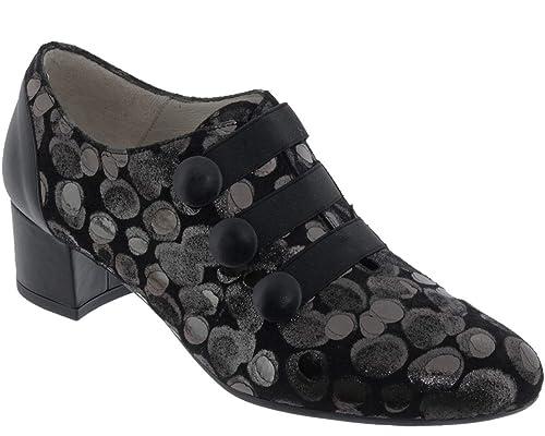 De es Brenda MujerAmazon Zapatos Zaro Piel Lisa Cordones AcLq354Rj