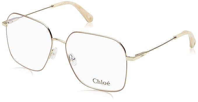 9e019af2f0 Chloé Ce2135 798 59, Monturas de Gafas Unisex-niños, Gold/Nude: Amazon.es:  Ropa y accesorios