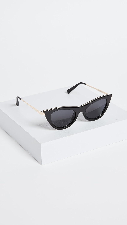 cee0220e1ea Le Specs LSP1702088 Black Black Enchantress Cats Eyes Sunglasses Lens  Category  Amazon.co.uk  Clothing