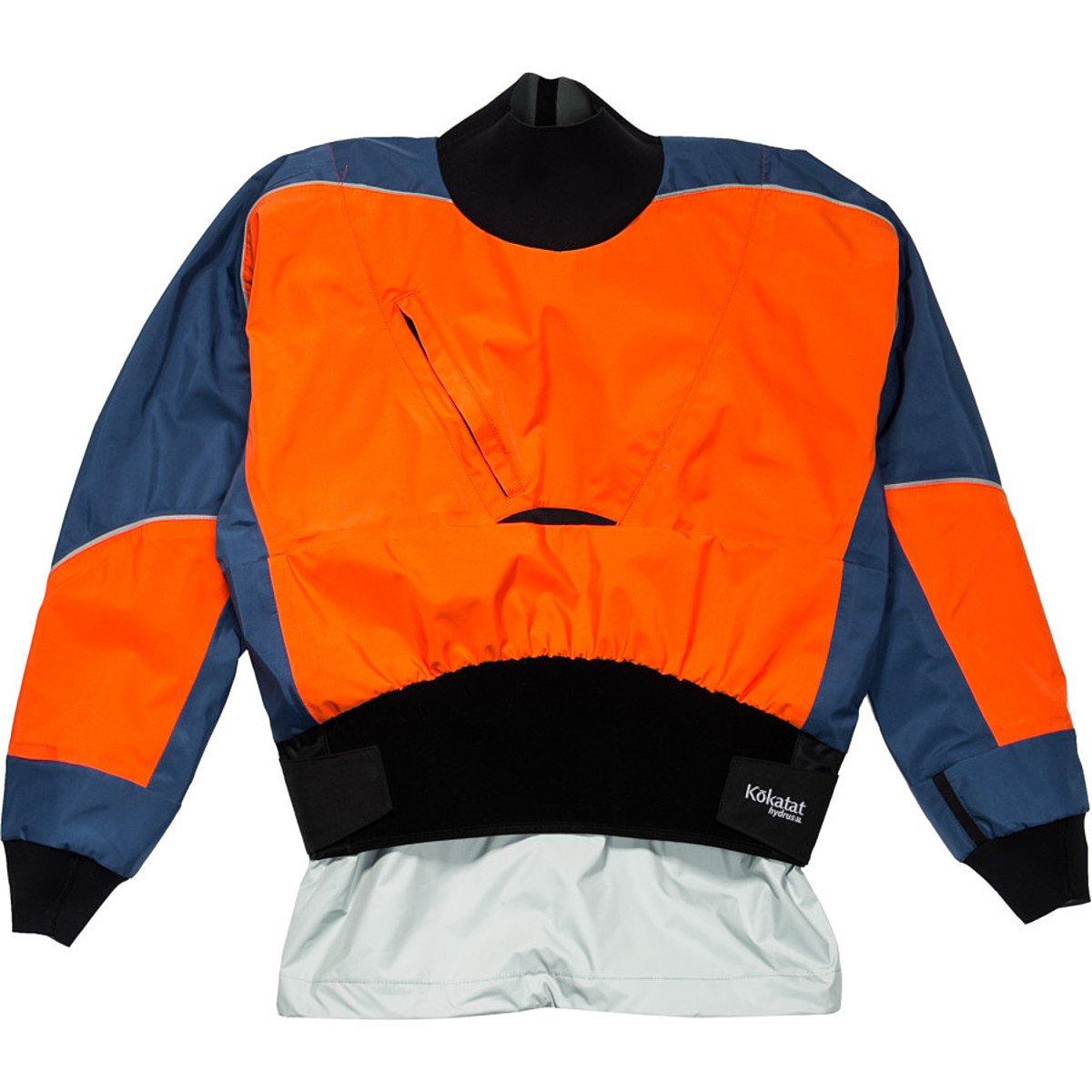 Kokatat Hydrus 3L Stoke Drytop - Men's Jackets SM Tangerine/Denim by Kokatat