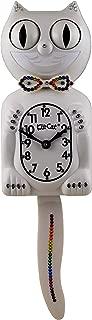product image for Kit Cat Klock Limited Edition Rainbow White Swarovski Crystals Jeweled Clock