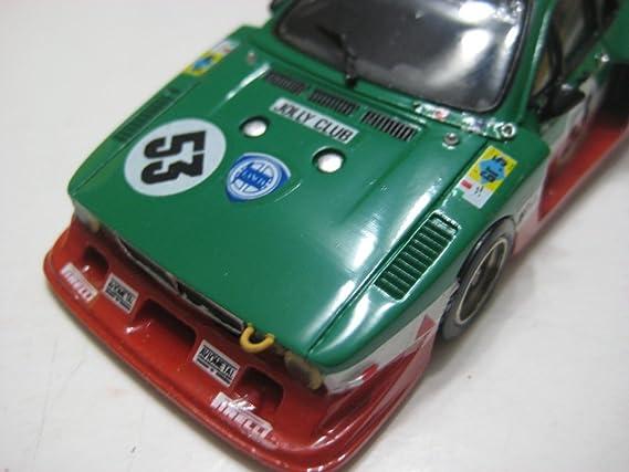 Amazon.com: Record (France) Green/Red Lancia Fiachetti Jolly Club Le Mans 1980 Resin Kit 1:43 NIB: Toys & Games